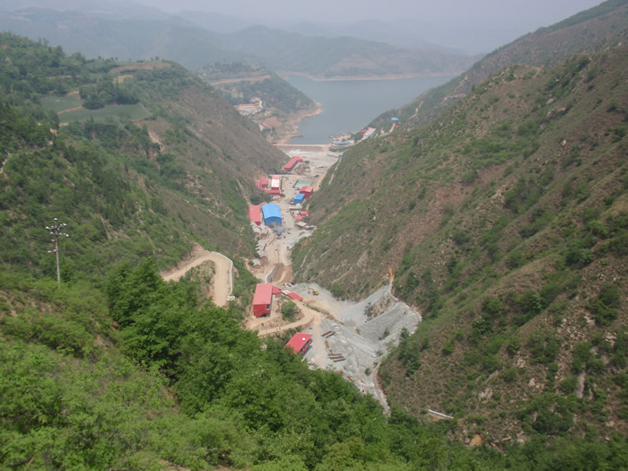Silvercorp Metals' Ying silver-lead-zinc operations in Henan province, China. Credit: Silvercorp Metals.