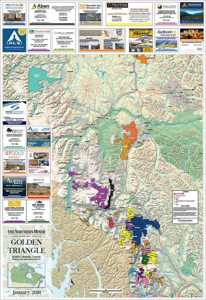 2019 Golden Triangle Map