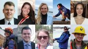 The 2019 Young Mining Professionals scholarship winners.