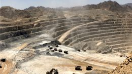Centamin's Sukari gold mine in southeast Egypt, 25km from the Red Sea. Credit: Centamin.