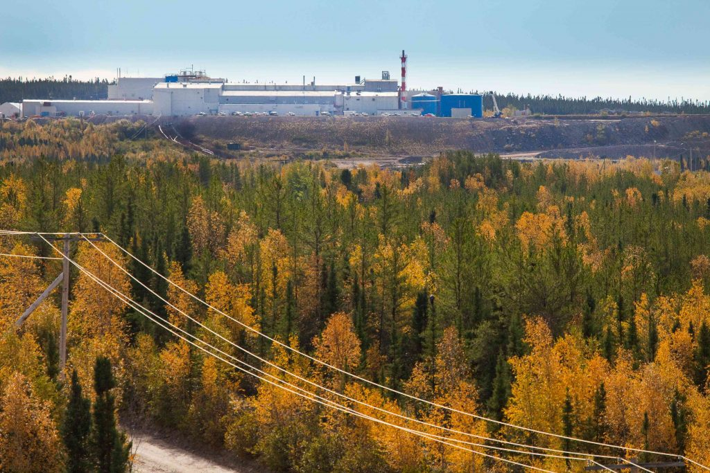 Cameco's Rabbit Lake uranium project, which was in operation for more than 41 years. Credit: Cameco
