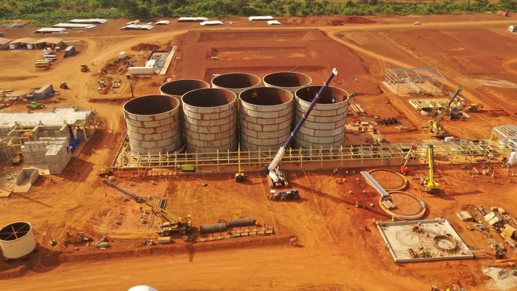 Perseus Mining's Yaoure development site in Cote d'Ivoire. Photo Credit: Perseus Mining