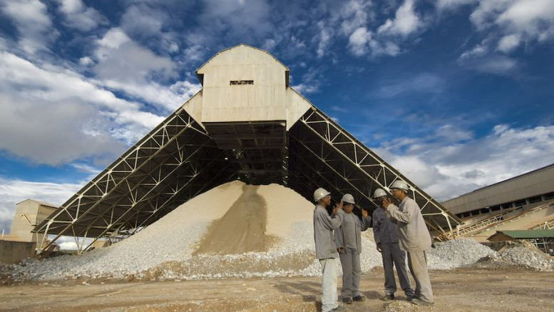 Glencore operates in the DRC and is Africa's largest copper producer. Image courtesy of Katanga Mining.
