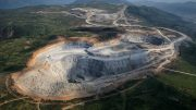 Aerial view of the Red Chris mine. Photo Credit: Daniel Henshaw.