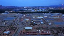 The Lynas Advance Material Plant (LAMP) in Malaysia.