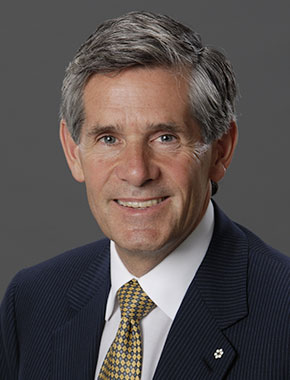 Rob McEwen, Chairman and Chief Owner, McEwen Mining Inc.